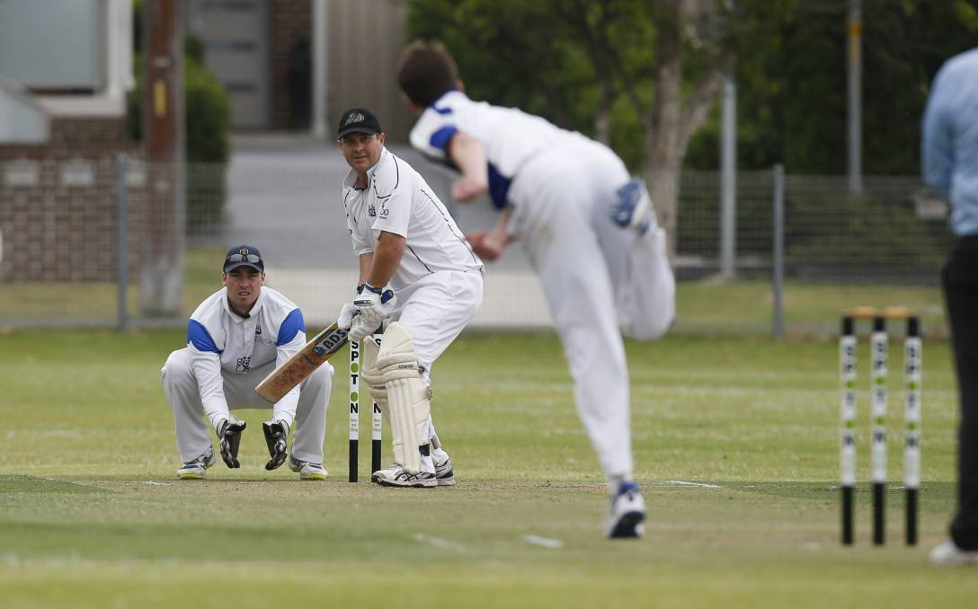 KEY MAN: Robert Fisher shapes as crucial for Balgownie's fortunes when the cricket returns on Saturday. Picture: Anna Warr