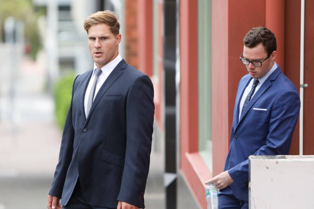 Jack de Belin attended Wollongong District Court on Thursday during the third week of his sexual assault trial. Picture: Adam McLean
