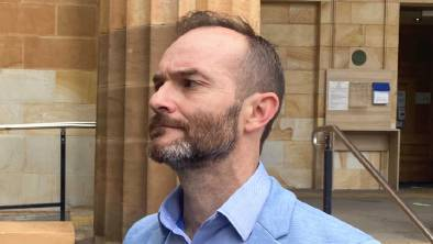 Matthew John Freeborn pleaded guilty to maintaining an unlawful sexual relationship with a child. Picture: Meagan Dillon, ABC News