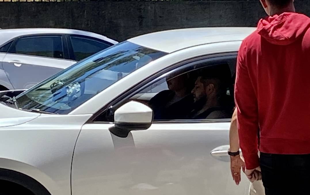Sinan Sen was granted bail in Wollongong Local Court after he was found asleep with prohibited items inside a car. Picture: Ashleigh Tullis