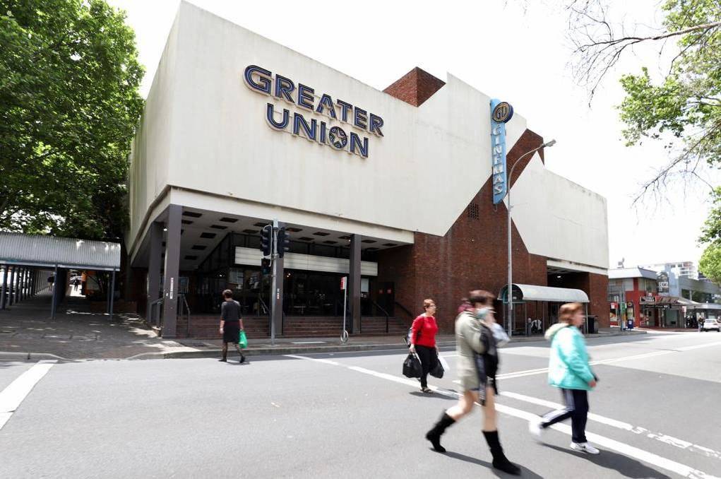 NOT SHOWING: Nothing to see here, as Greater Union Wollongong 'temporarily' closes. Pictures: Adam McLean