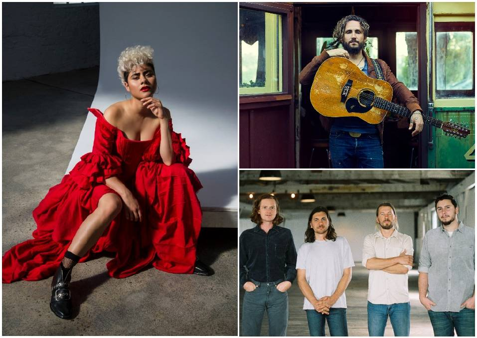 Montaigne, John Butler and The Tesky Brothers are part of a star-studded lineup for the SummerSalt festival announced for North Wollongong in March 2021. Pictures: Supplied