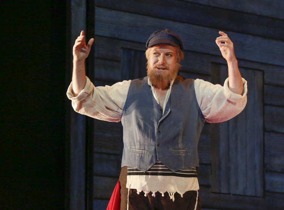 Superstar: Ex-Wollongong local, Anthony Warlow, had to brush up on his accent for Fiddler on the Roof, opening Thursday at the Capitol Theatre. Picture: Adrianne Harrowfield