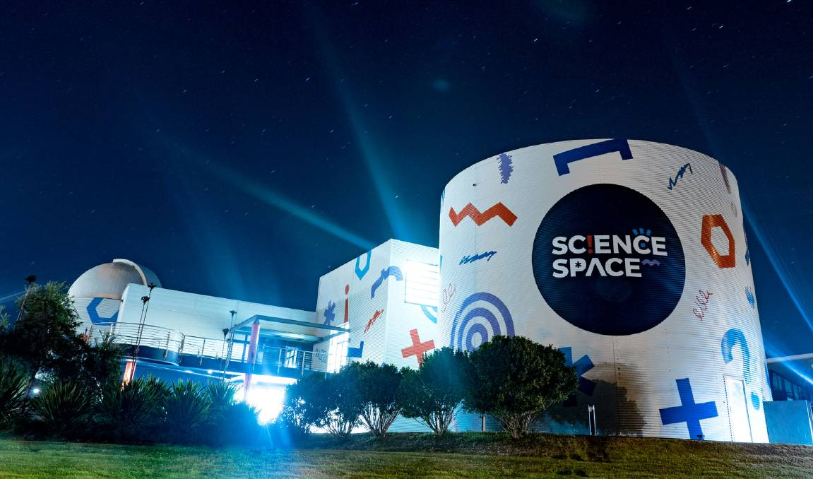 Immerse yourself in Wollongong planetarium's new Science Space show