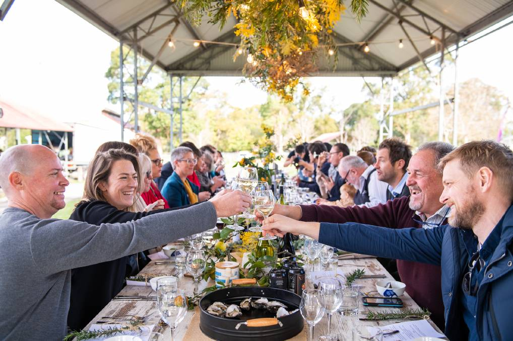 LONG LUNCH: Tickets are now on sale for Berry's new foodie festival on from September 13 to 15. www.southcoastfoodandwinefestival.com.au Picture: Supplied