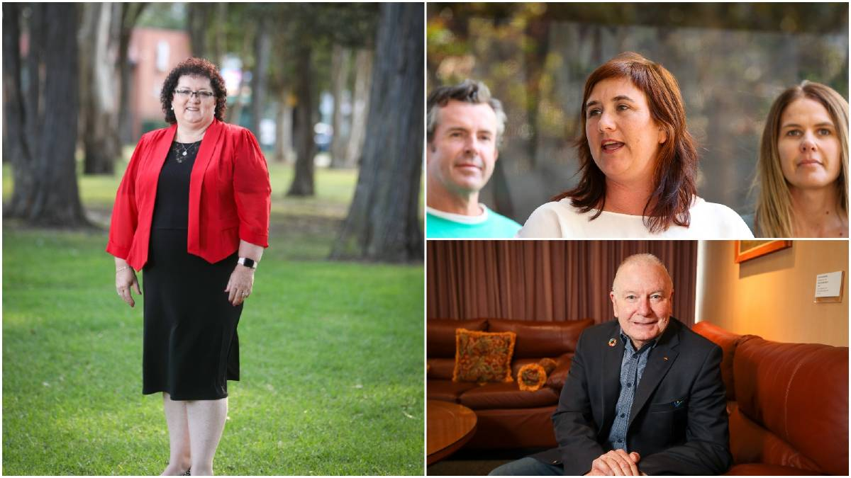 Mayoral contenders. Pictures: Adam McLean / Anna Warr