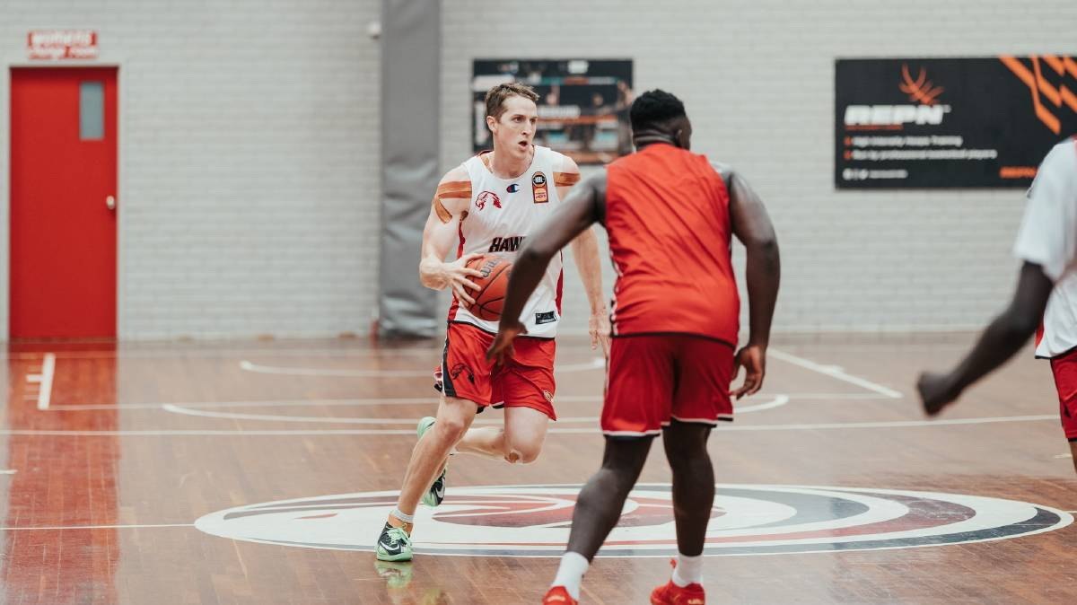 MARQUEE: The Hawks fortunes in 2021 will largely hinge on Cam Bairstow staying healthy. Picture: Haws Facebook