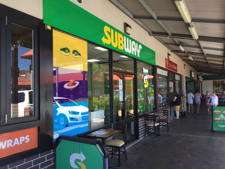 Police say the gunman fled from the Terry Street takeaway (pictured) towards Russell St. Picture: Robert Peet