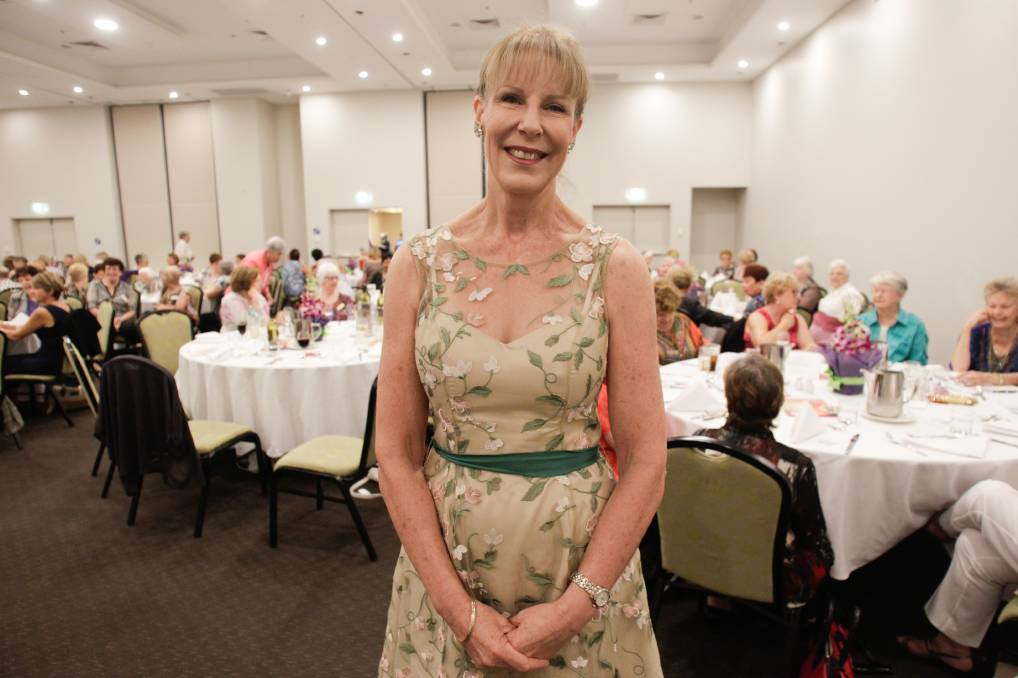 Detective Superintendent Deborah Wallace  was the guest speaker at the International Women's Day lunch at the Sage Hotel in Wollongong on Saturday. Picture: Georgia Matts