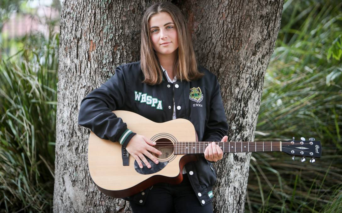 ON SONG : WHSPA songwriter Emma Jones has collaborated on a song for the Music Count Us In program. Picture: Adam McLean.