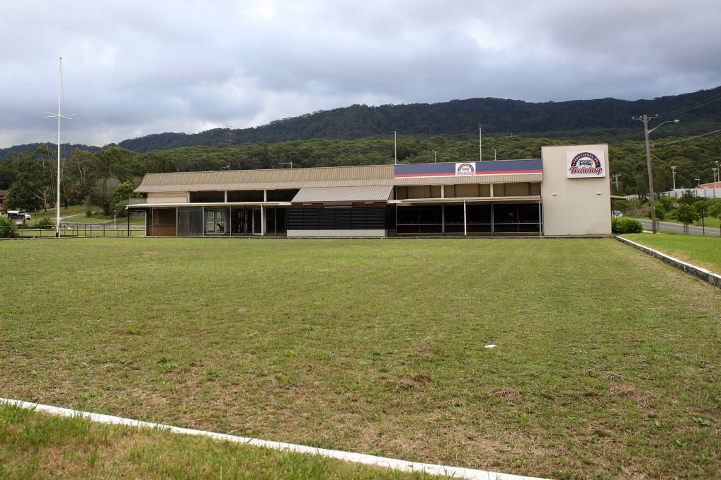 No go: Plans to rezone the old Bulli Bowling Club to allow for an apartment development have been knocked back by council. Photo: Adam McLean.