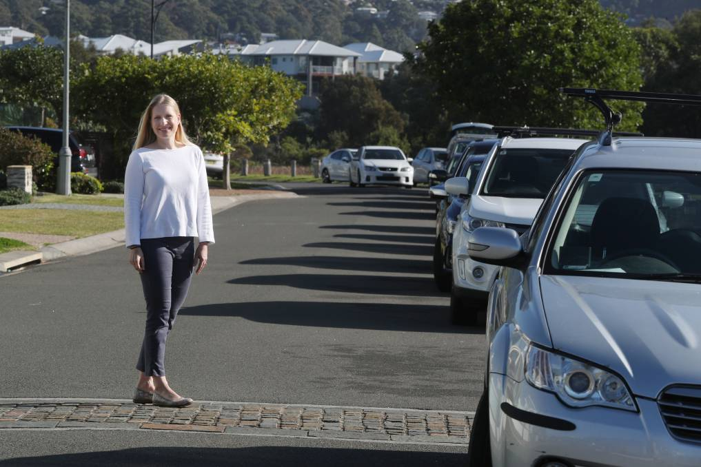Slow down: Concerned over speed limits in residential areas, Lena Huda believes the time is right to trial a reduction in speed. Picture: Robert Peet