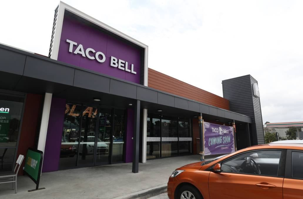 GOOD TO GO: Taco Bell at Albion Park. Picture: ROBERT PEET.