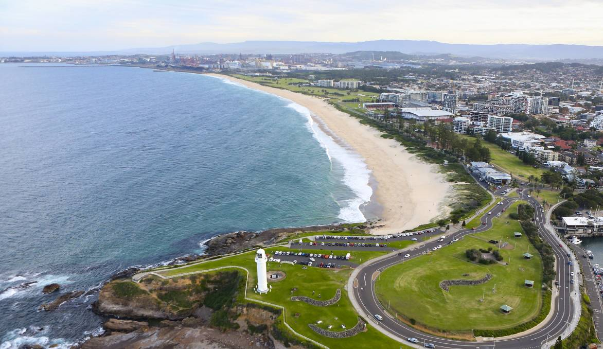 OPPOSED: City Beach is one of five beaches in Wollongong where shark nets are placed each summer. Picture: Anna Warr