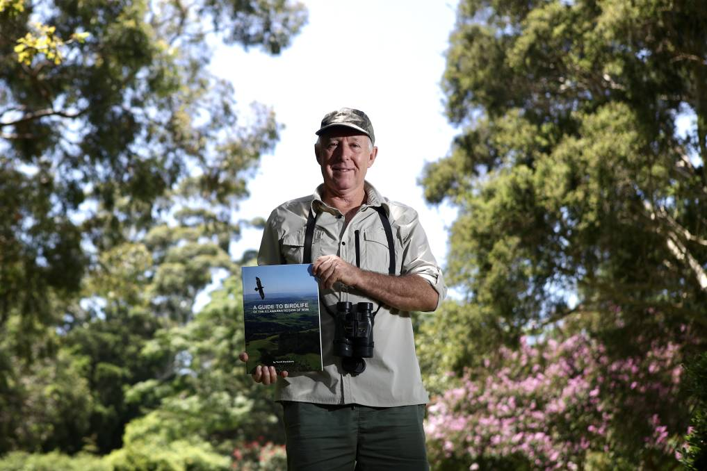 DRAWCARD: Terrill Nordstrom, who has released a book on birds of the Illawarra, says birders are coming to the region to see rare species. Picture: Adam McLean
