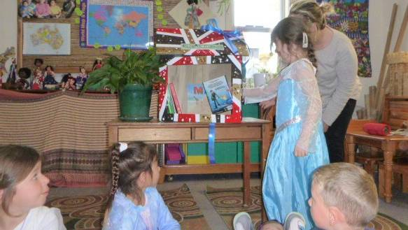 CURIOUS MINDS: KU Gwynneville Preschool kids check out the centre's new street library.