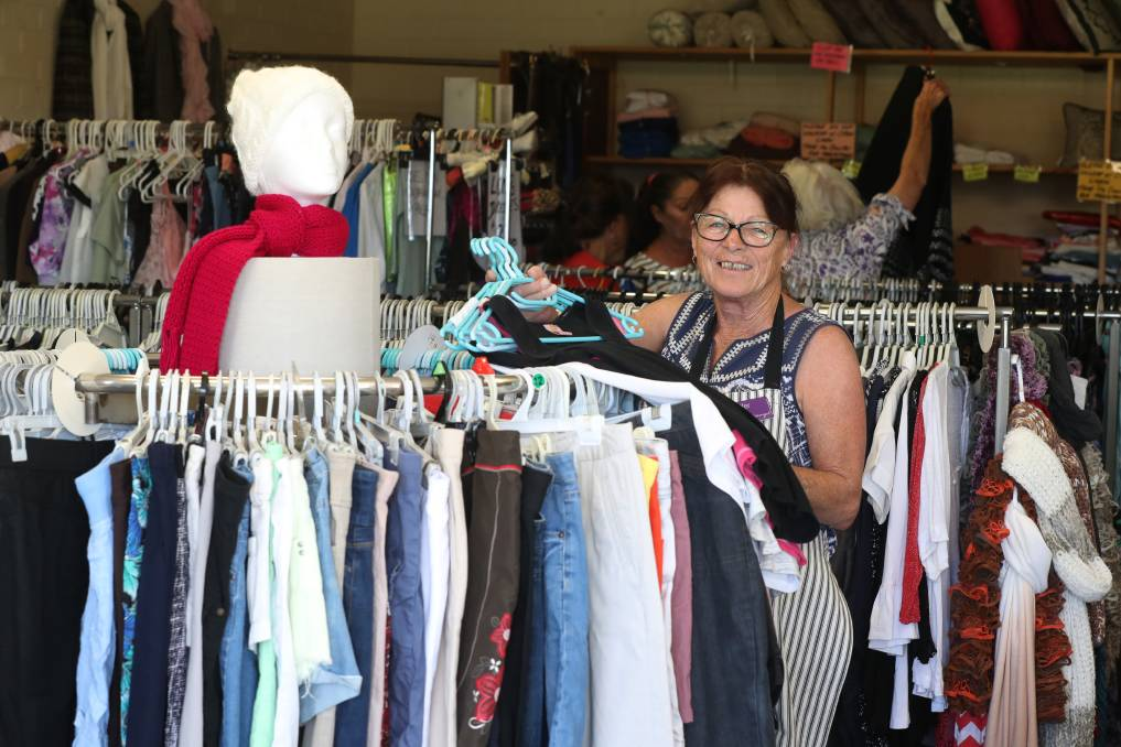 Warrigal Op Shop manager Jennifer Greaves. Picture: Robert Peet