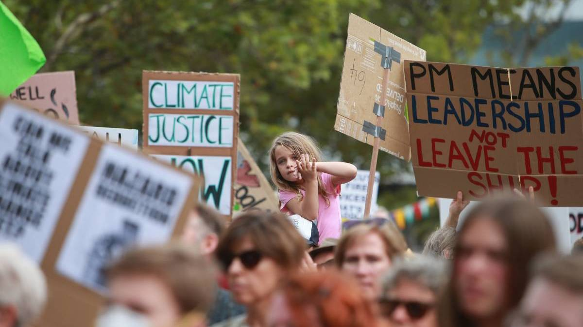 Thousands of Illawarra residents have protested against climate inaction in multiple rallies over the past few years.