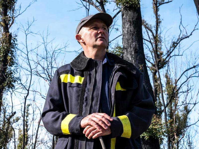 Darin Sullivan wants more action on climate change after a horror year of natural disasters.