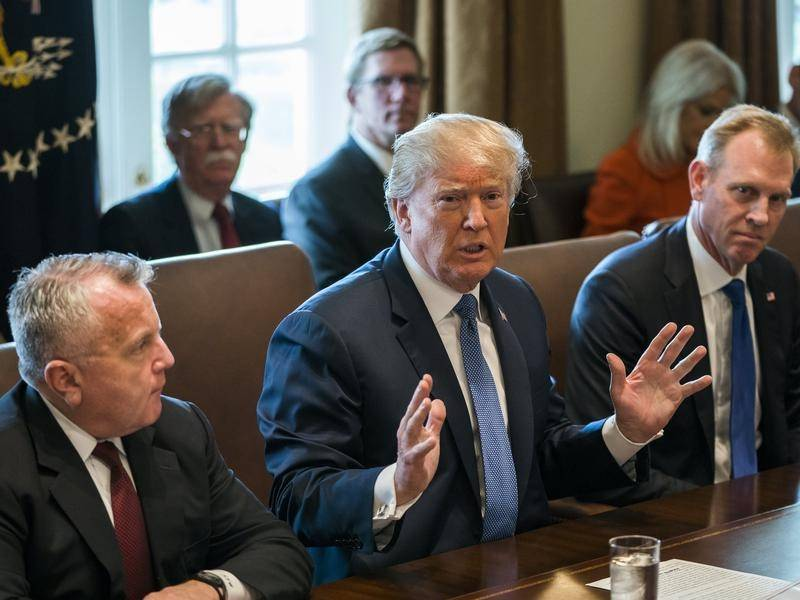 President Donald Trump will make a decision within hours on action over the Syrian chemical attack.
