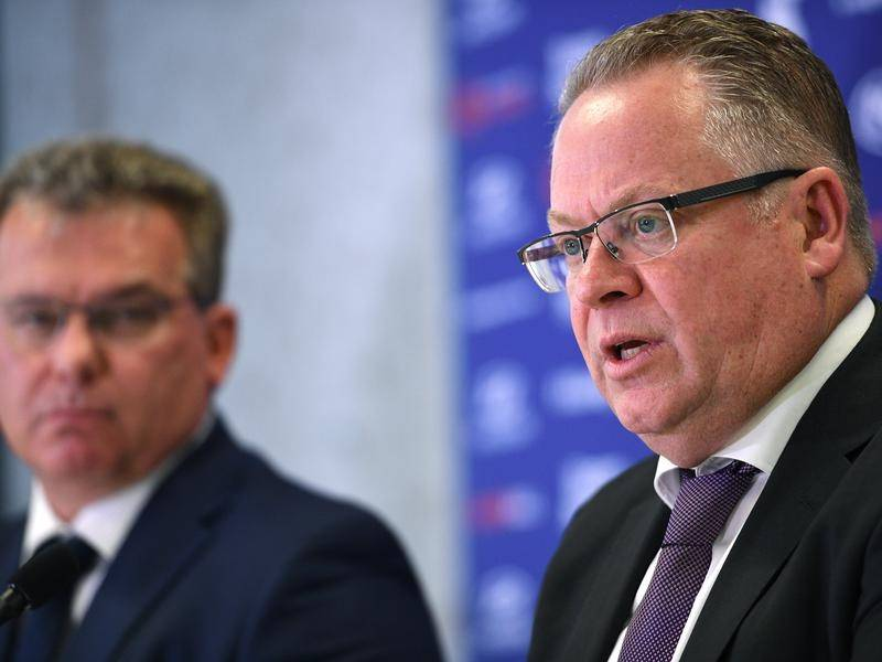 The FFA's Greg O'Rourke is working on a revised fixture list as Melbourne teams head for Sydney.