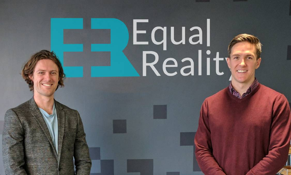 Innovators: Equal Reality founders Rick Martin and Brennan Hatton make prestigious list.