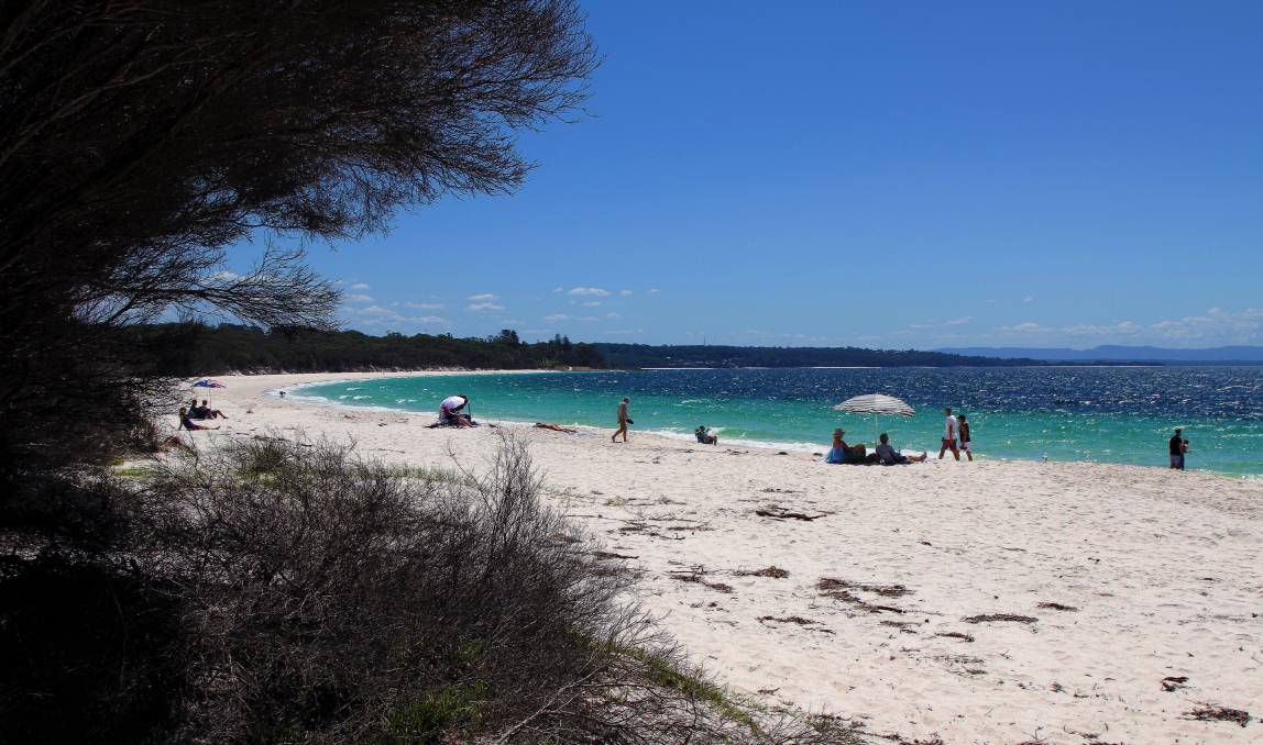 Off limits: Visitors won't be able to head to Green Patch or other parts of Booderee National Park in Jervis Bay Territory for the next two days. Picture: Greg Ellis.
