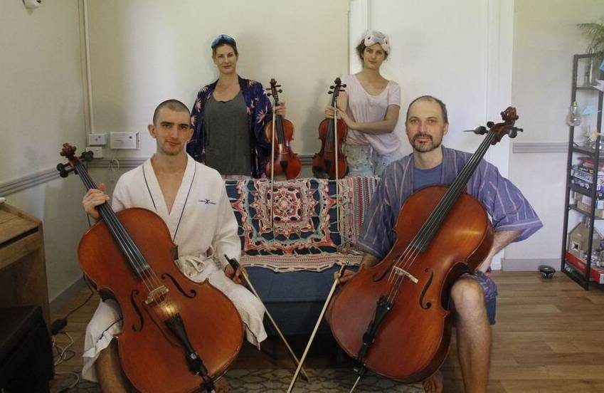 The String Family: Moir family members have been gaining national attention on social media every night for the PJ sessions. They have also been working on a new album while in lockdown.