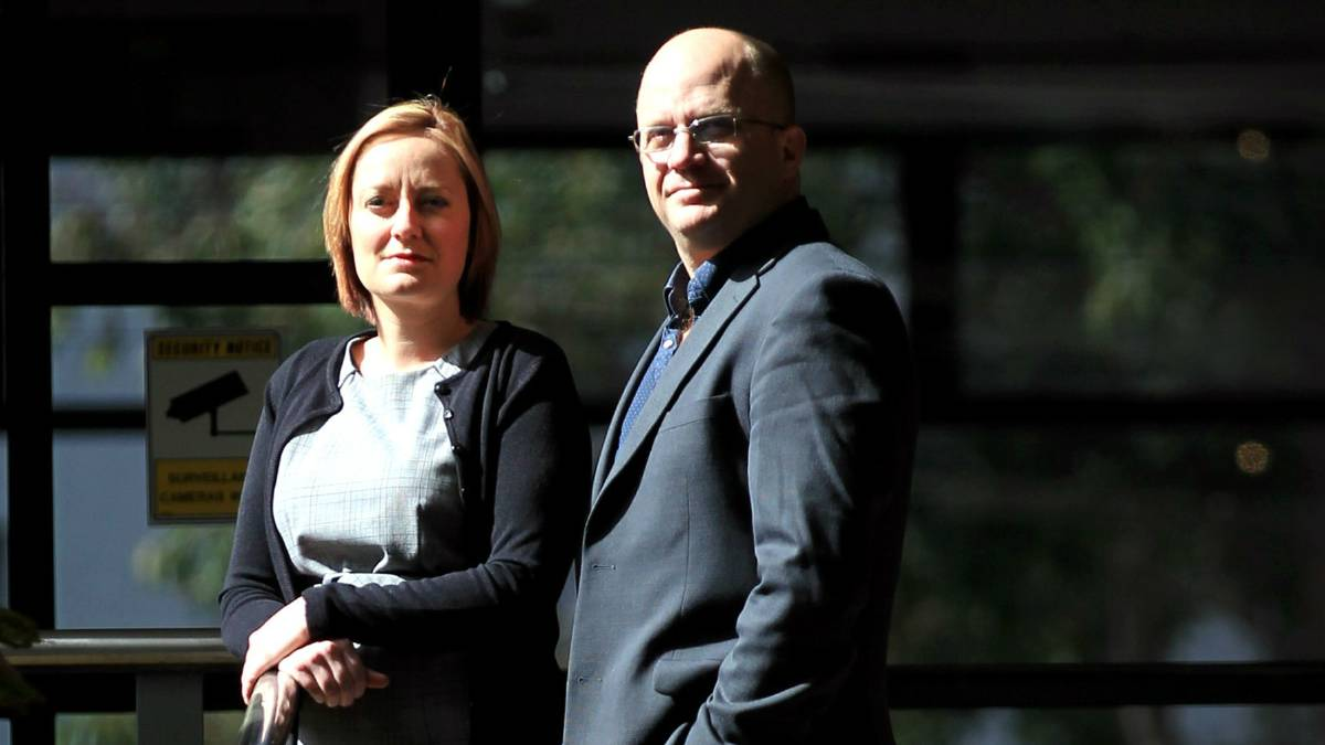 UOW's Dr Tracey Kuit and journalism lecturer Shawn Burns won national awards. Picture: ORLANDO CHIODO